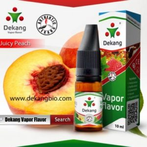 10ml dekang Juicy Peach breskva