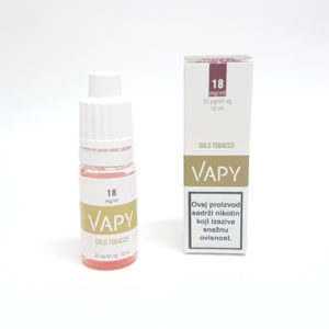 10ml VAPY Gold Tobacco